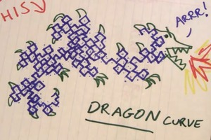 Doodling in Math Class: DRAGONS