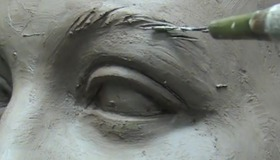 Sculpting Realistic  Eyes