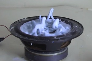 Oobleck on a Speaker