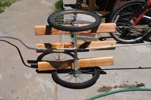 No Weld Bike Trailer