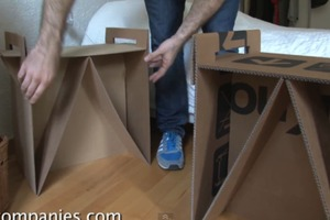 DIY Cardboard Furniture and Prototype
