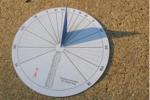 Paper Sundial With Latitude Printout Generator