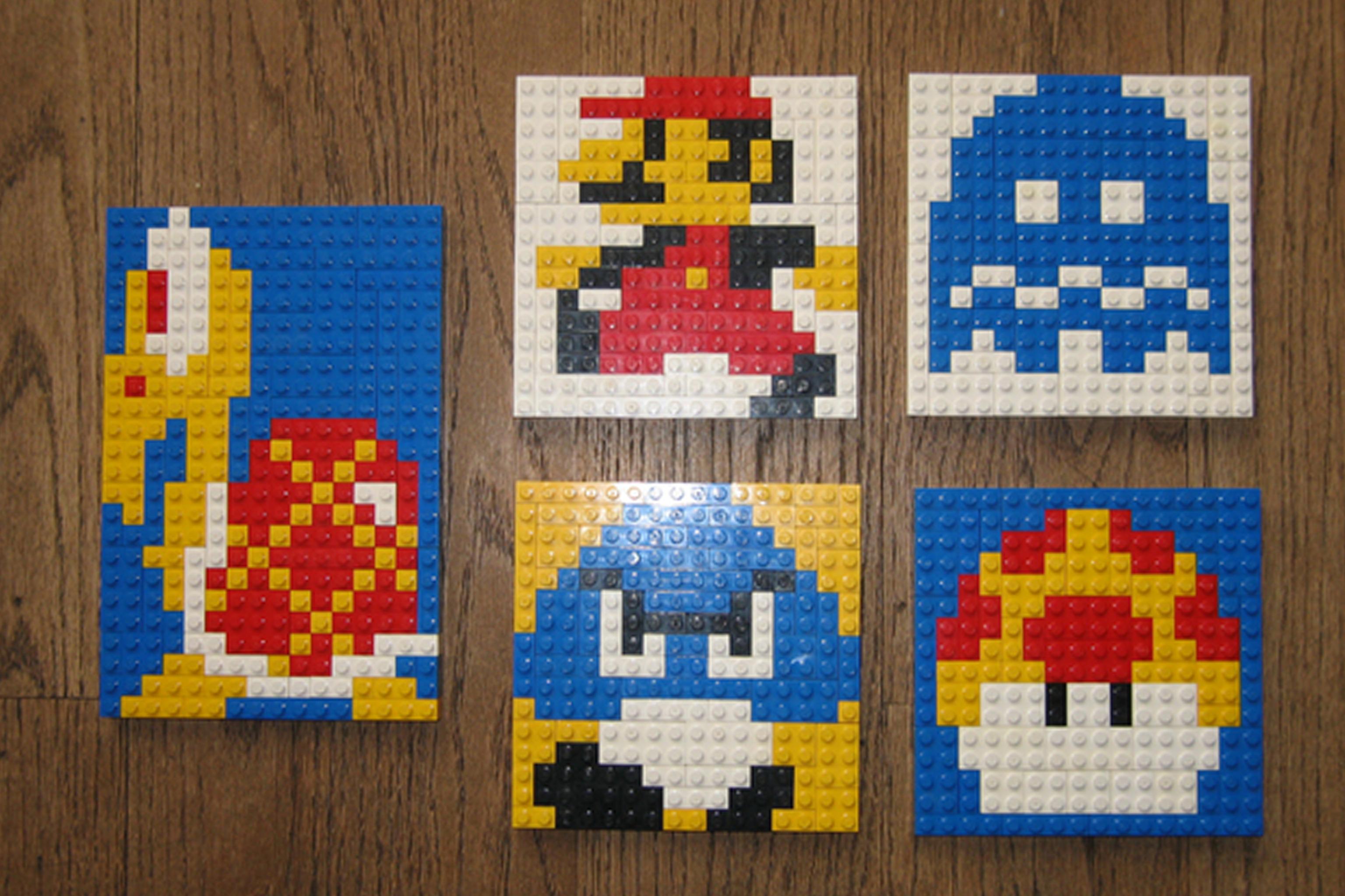 pixel art lego
