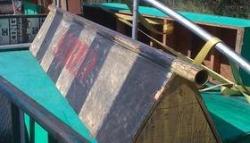 Wood frame flatbar