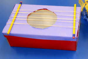 Elastic Band Guitar