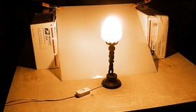 Pro Lighting with a Desk Lamp
