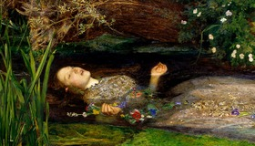 Romantic Painting by Millais