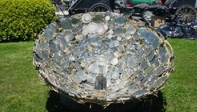 Tin Can Solar Cooker